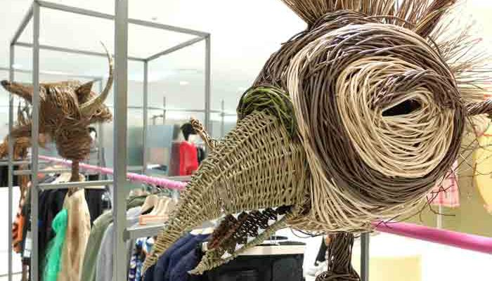 These sculptures were commisioned by Joe Casely-Hayford, a very famous fashion designer from London. He'd been asked by the prestigious Dover Street Market shop in Tokyo to create a new 'pop-up' shop within their store, something that obviously sold his clothing but with a new and unique twist. So the[...]