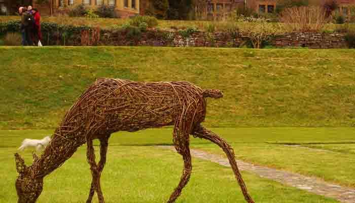 This Doe was made for the National trust's gardens at Knightshayes, Devon.