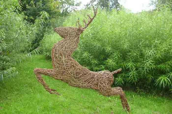 stylised stag