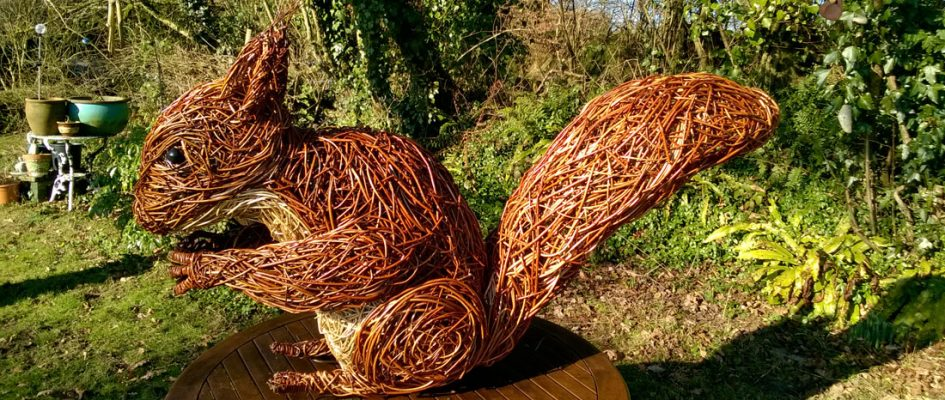 I was commissioned to create 7 sculptures for a sculpture nature trail for Allan Bank in the lake district. Allan Bank is a national trust property in a beautiful natural setting of the lake district. I made a flying Buzzard, two badgers, a running fox, a Roe deer, a larger[...]