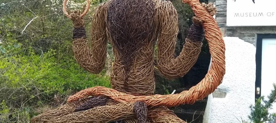 After having my figure of Pan outside the Museum of Witchcraft in Boscastle, Cornwall, it was time for a new sculpture. So the museum kindly commissioned one of the northern European god , Cernunnos. I took inspiration from the figure on the Gundestrop cauldron that was found in Denmark, but[...]