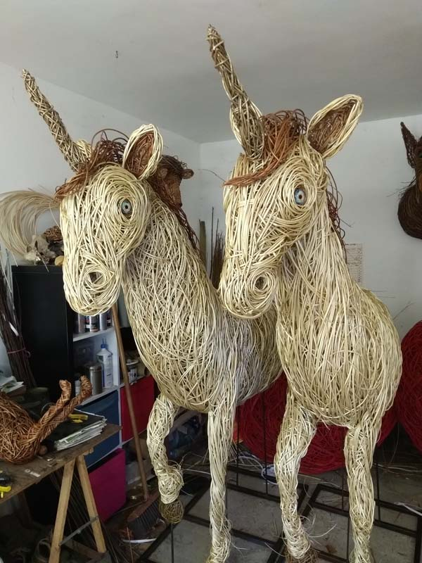 2 willow unicorns