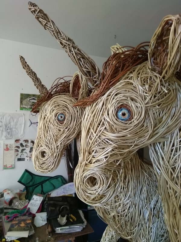 Willow Unicorn close up.